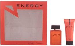 Kup Concept V Design Energy Men - Zestaw (edt/100ml + ash/balm/100ml)