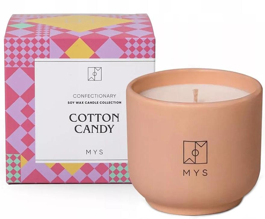 Sojowa świeca Wata cukrowa - Mys Cotton Candy Candle — фото N1
