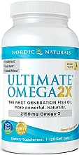Kup Suplement diety Omega 2x o smaku cytrynowym, 2150 mg - Nordic Naturals Omega 2X