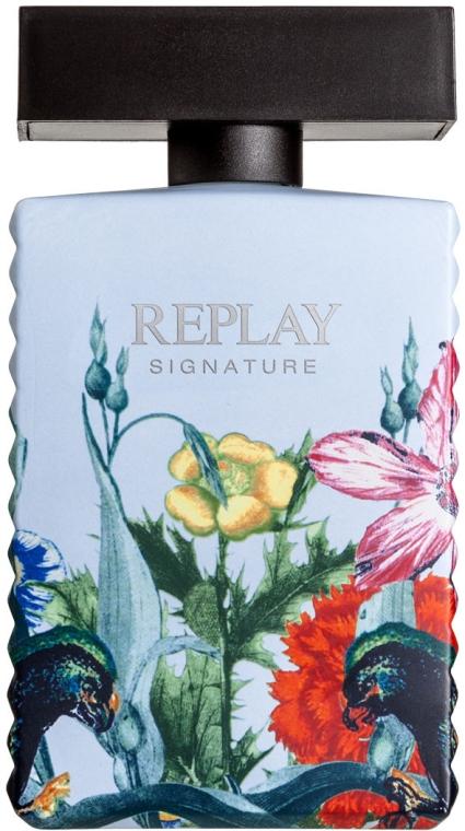 Replay Signature Secret - Woda toaletowa (tester bez nakrętki) — фото N1