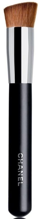 Pędzel do makijażu 2w1 - Chanel 2-In-1 Foundation Brush And Powder №8