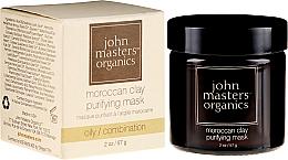 Kup Oczyszczająca maska do twarzy - John Masters Organics Moroccan Clay Purifying Mask