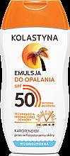 Kup Wodoodporna emulsja do opalania SPF 50 - Kolastyna