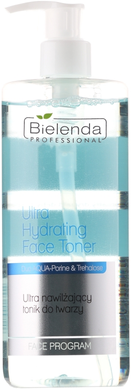 Ultranawilżający tonik do twarzy - Bielenda Professional Face Program Ultra Hydrating Face Toner