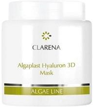 Kup Nawilżająca maska do twarzy z kwasem hialuronowym - Clarena Algae Line Algaplast Hyaluron 3D Mask