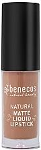 Kup Matowa szminka do ust - Benecos Natural Matte Liquid Lipstick