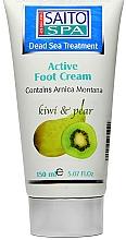 Kup Krem do stóp Gruszka i kiwi - Saito Spa Active Foot Cream Kiwi Pear