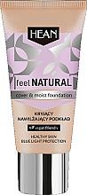 Kup Kryjący nawilżający podkład - Hean Feel Natural Cover & Moist Foundation