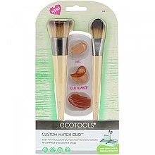 Kup Zestaw pędzli do makijażu z paletką - EcoTools Custom Match Duo