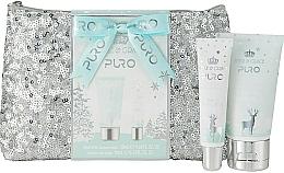 Kup Zestaw - Style & Grace Puro Glitter Bag Gift Set (h/lot/50ml + lip gloss/10ml + bag)