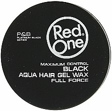 Kup Wosk do włosów na bazie wody - Red One Aqua Hair Gel Wax Full Force Black