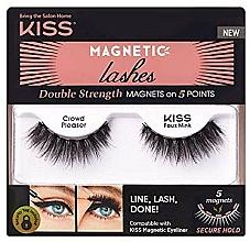 Kup Sztuczne rzęsy na pasku magnetycznym - Kiss Magnetic Lashes Double Strength KMEL 05 Crowd Pleaser