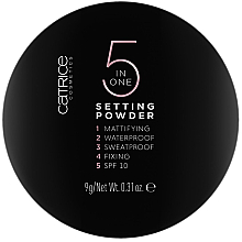 Kup Puder do twarzy 5 w 1 - Catrice 5 in 1 Setting Powder