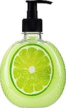 Kup Kremowe mydło w płynie z ekstraktem z limonki - Smaczne Sekrety