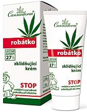 Kup PRZECENA! Kojący krem dla dzieci do skóry wrażliwej i podrażnionej - Cannaderm Robatko *