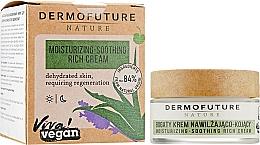 Kup Bogaty krem nawilżająco-kojący do twarzy - DermoFuture Nature Moisturizing-Soothing Rich Cream