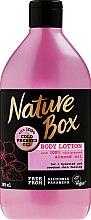 Kup Nawilżająco-wygładzający balsam do ciała z olejem migdałowym tłoczonym na zimno - Nature Box Almond Oil