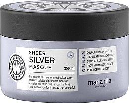 Kup Delikatna maska przeciw żółknięciu włosów farbowanych - Maria Nila Sheer Silver Masque
