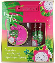 Kup Zestaw Rajskie spa Pitaja - Bielenda Exotic Paradise (scrub 350 g + oil 400 ml)