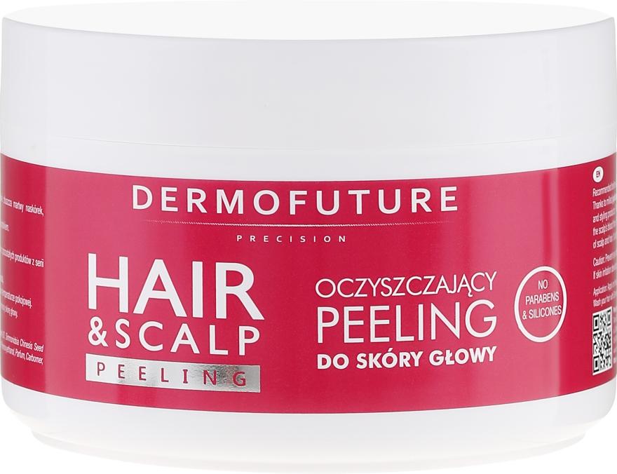 Oczyszczający peeling do skóry głowy - DermoFuture Hair&Scalp Peeling — фото N2