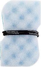 Kup Gąbka do kąpieli do masażu, niebieska - Suavipiel Black Aqua Power Massage Sponge