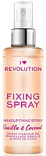 Kup Spray-utrwalacz makijażu - I Heart Revolution Fixing Spray Vanilla & Coconut
