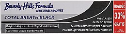 Kup Wybielająca pasta do zębów z aktywnym węglem drzewnym - Beverly Hills Formula Natural White Total Breath Black