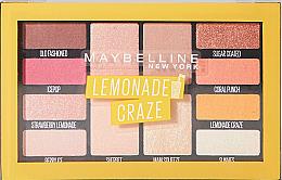 Paleta do makijażu - Maybelline Lemonade Craze Palette — фото N1