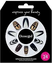 Kup Zestaw sztucznych paznokci z klejem, 3064 - Donegal Express Your Beauty