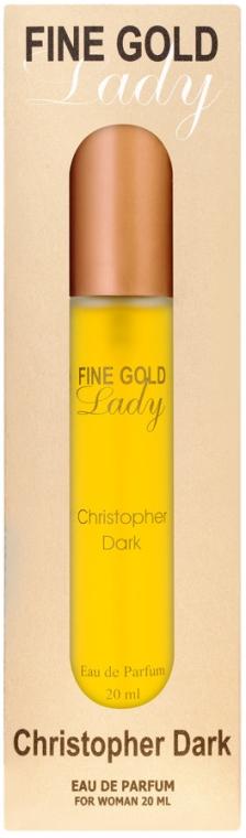 Christopher Dark Fine Gold Lady - Woda perfumowana (mini)