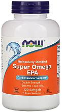 Kup PRZECENA! Kwasy tłuszczowe Super Omega EPA - Now Foods Super Omega EPA Double Strength Softgels *