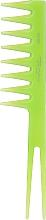 Kup Grzebień do włosów 60182, zielony - Top Choice