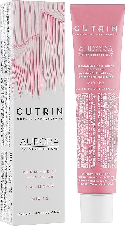 Farba do włosów w kremie - Cutrin Aurora Color Reflection — фото N1