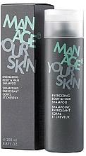 Kup Energetyzujący szampon do włosów i ciała - Dr. Spiller Manage Your Skin Energizing Body & Hair Shampoo