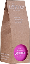 Kup Naturalny dezodorant w kremie Lawenda - The Lekker Company Natural Lavender Deodorant