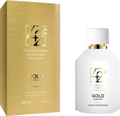 42° by Beauty More Gold Extasy Pour Femme - Woda perfumowana — фото N1