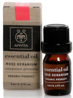 Olejek geraniowy - Apivita Aromatherapy Organic Geranium Oil — фото N1