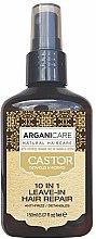 Kup Serum do włosów przeciw puszeniu bez spłukiwania z olejem rycynowym 10 w 1 - Argaincare Castor Oil 10-in-1 Hair Repair