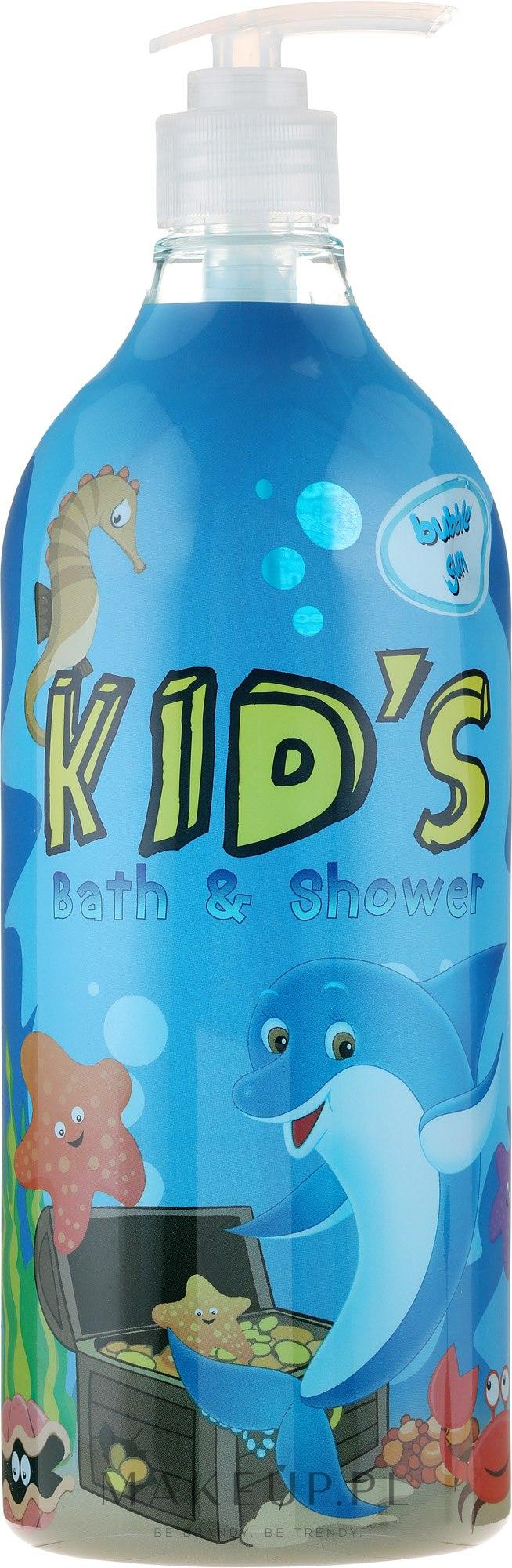 Żel pod prysznic i do kąpieli dla dzieci - Hegron Kid's Bubble Gum Bath & Shower — фото 1000 ml