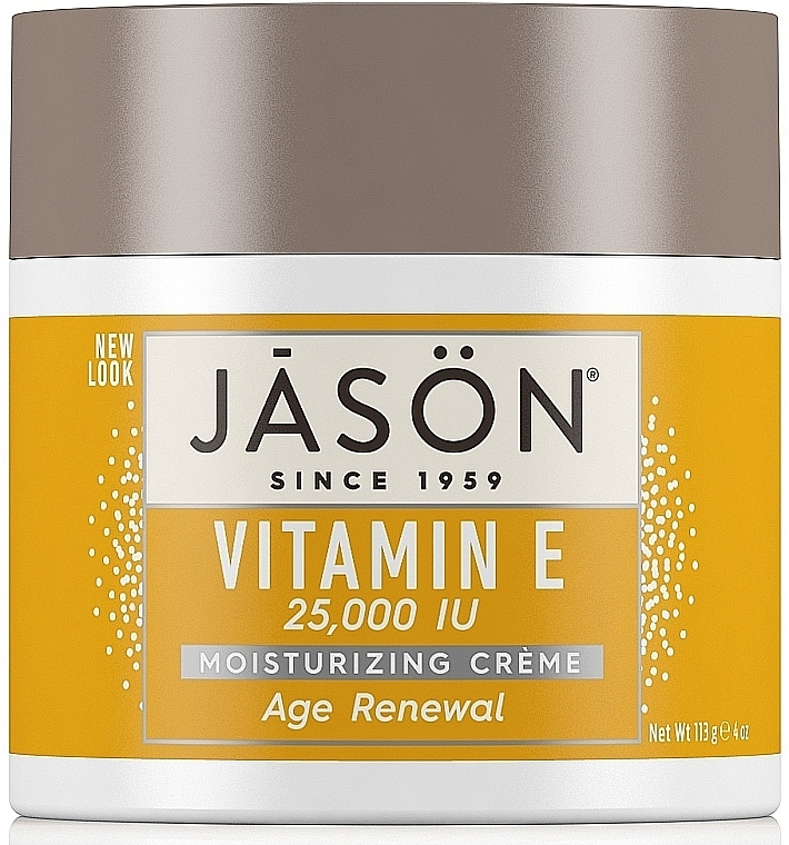 Krem do twarzy z witaminą E - Jason Natural Cosmetics Age Renewal Vitamin E