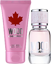 Kup Dsquared2 Wood Pour Femme - Zestaw (edt 30 ml + b/lot 50 ml)