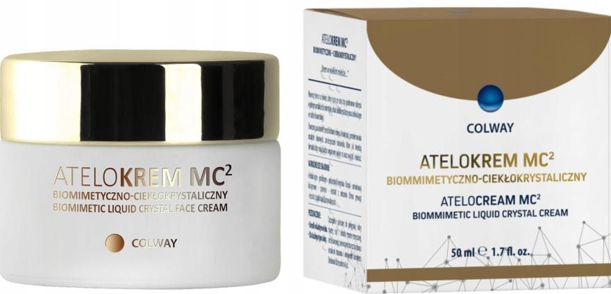 Biomimetyczno-ciekłokrystaliczny krem do twarzy Atelokrem MC2 - Colway