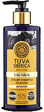 Kup Kremowy odżywczy szampon do włosów z mlekiem jaka - Natura Siberica Tuva Siberica Yak Milk Nourishing Bio Cream-Shampoo