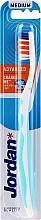 Kup Szczoteczka do zębów, średnia twardość, niebieska - Jordan Advanced Medium