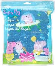 Kup Zestaw gąbek Świnka Peppa, 3szt. Kosmiczna przygoda - Suavipiel Peppa Pig Bath Spong