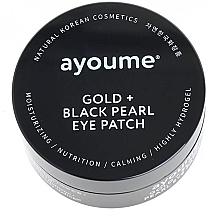 Kup Płatki pod oczy ze złotem i czarnymi perłami - Ayoume Gold + Black Pearl Eye Patch