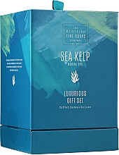 Kup Zestaw - Scottish Fine Soaps Sea Kelp Marine Spa Luxurious Gift Set(b/cr/75ml + b/peel/75ml + sh/cr/75ml + soap/40g)