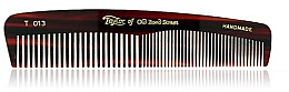 Kup Grzebień kieszonkowy męski 12,5 cm, brązowy T013 - Taylor of Old Bond Street