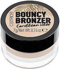 Żelowy bronzer do twarzy - Catrice Bouncy Bronzer Caribbean Vibes — фото N1