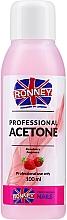 Kup Acetonowy zmywacz do paznokci Truskawka - Ronney Professional Acetone Strawberry
